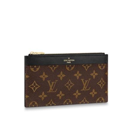 Louis Vuitton  スリム パース・モノグラム・キャンバス M80348