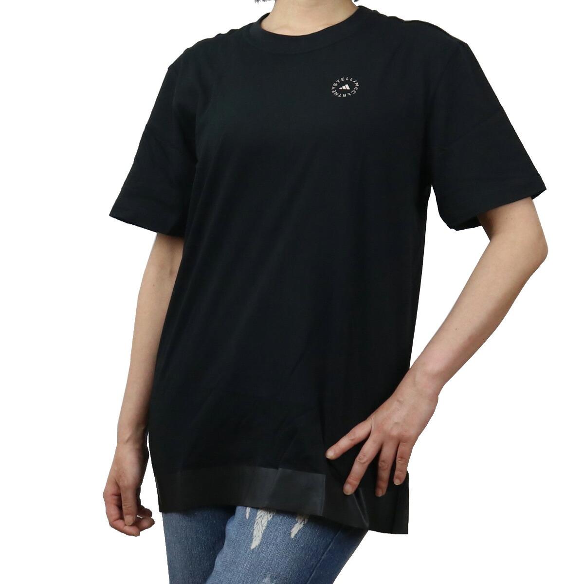 アディダスバイステラマッカートニー ADIDAS BY STELLA MCCARTNY レディース-Tシャツ アディダス コラボ adidas FU3977 ブラック bos-01 apparel-01 レディース ts-01