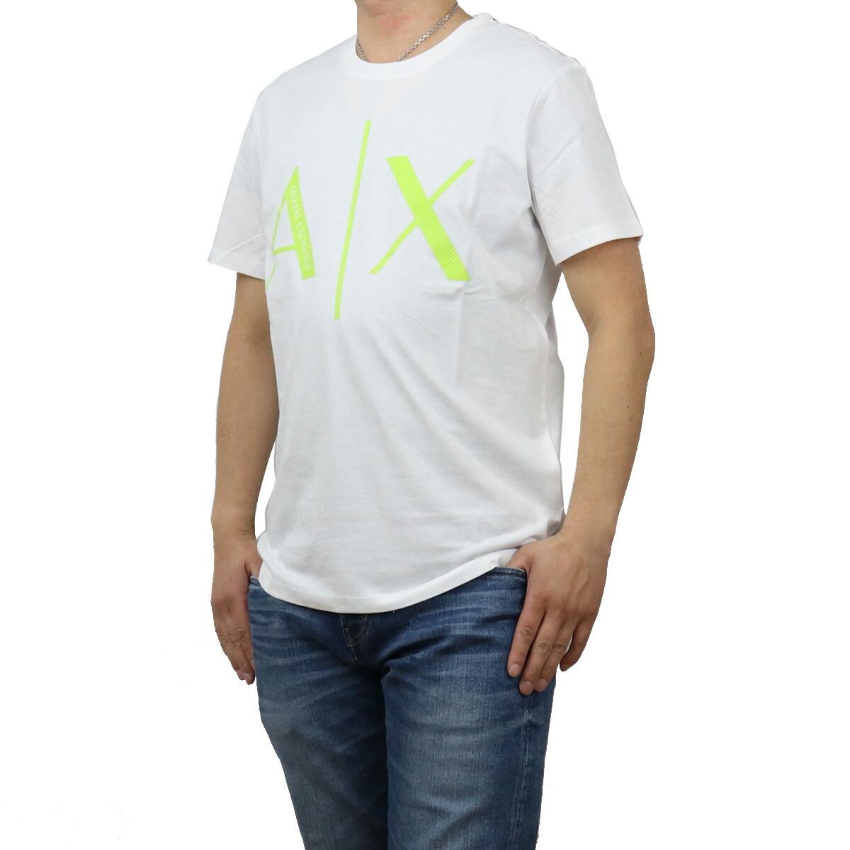 アルマーニエクスチェ ARMANI EXCHANGE メンズ-Tシャツ 3KZTAG ZJ4KZ 1100 ホワイト系 apparel-01 ts-01 メンズ