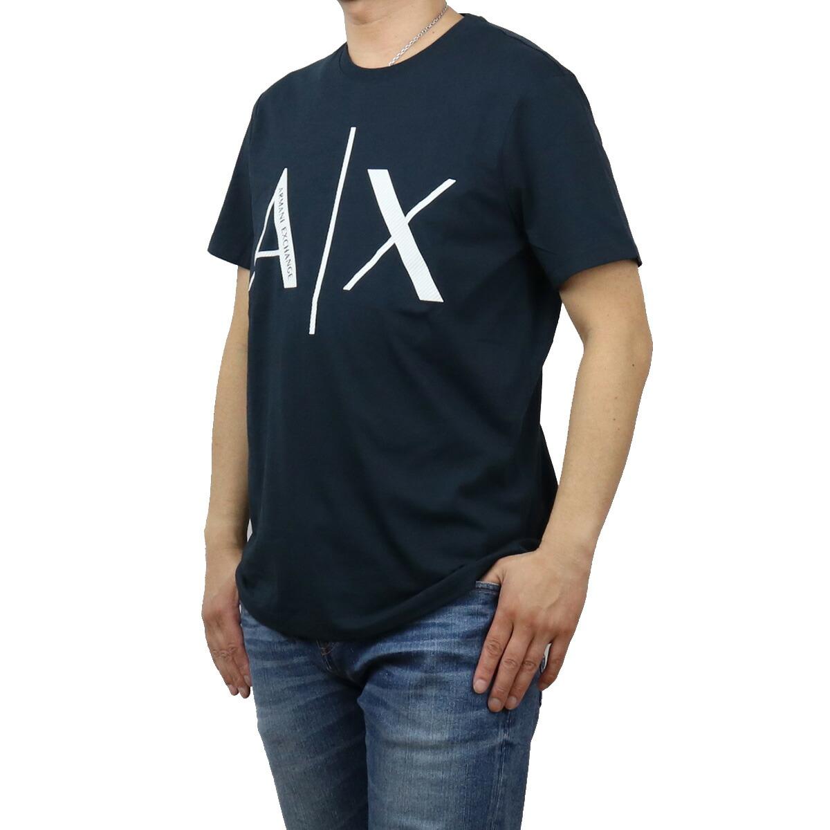 アルマーニエクスチェ ARMANI EXCHANGE メンズ-Tシャツ 3KZTAG ZJ4KZ 1510 ネイビー系 apparel-01 ts-01 メンズ