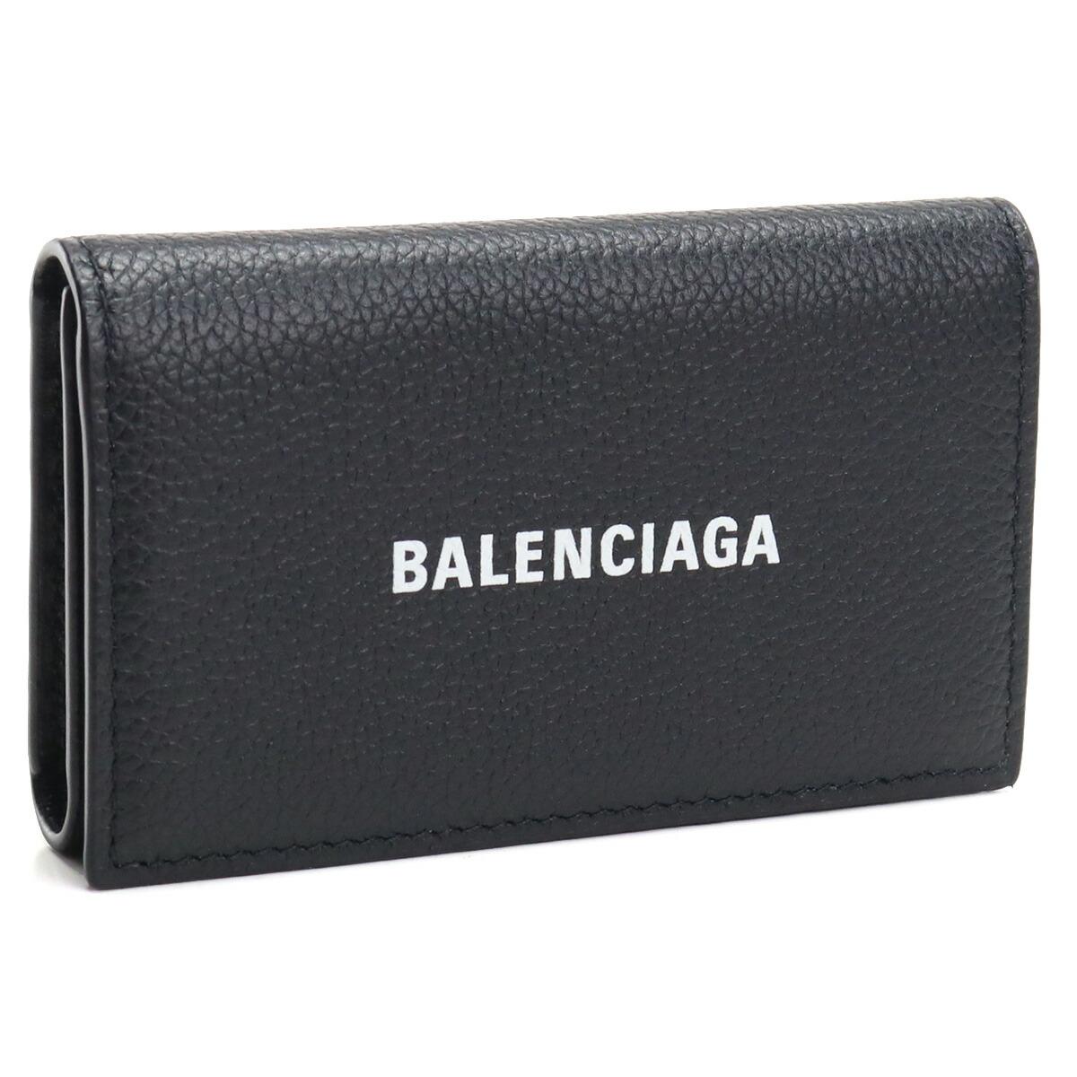 バレンシアガ BALENCIAGA  6連キーケース 640537 1IZI3 1090 ブラック bos-09 gsm-3
