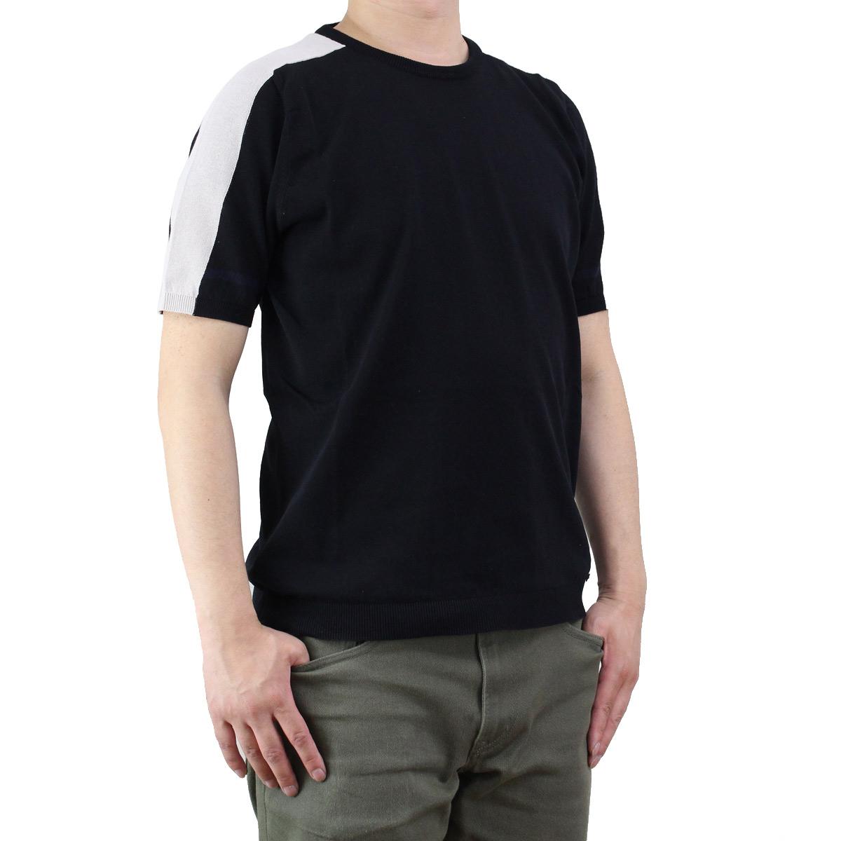 バーク Bark メンズセーター 71B6002 261 BLACK ブラック  メンズ OLS-4