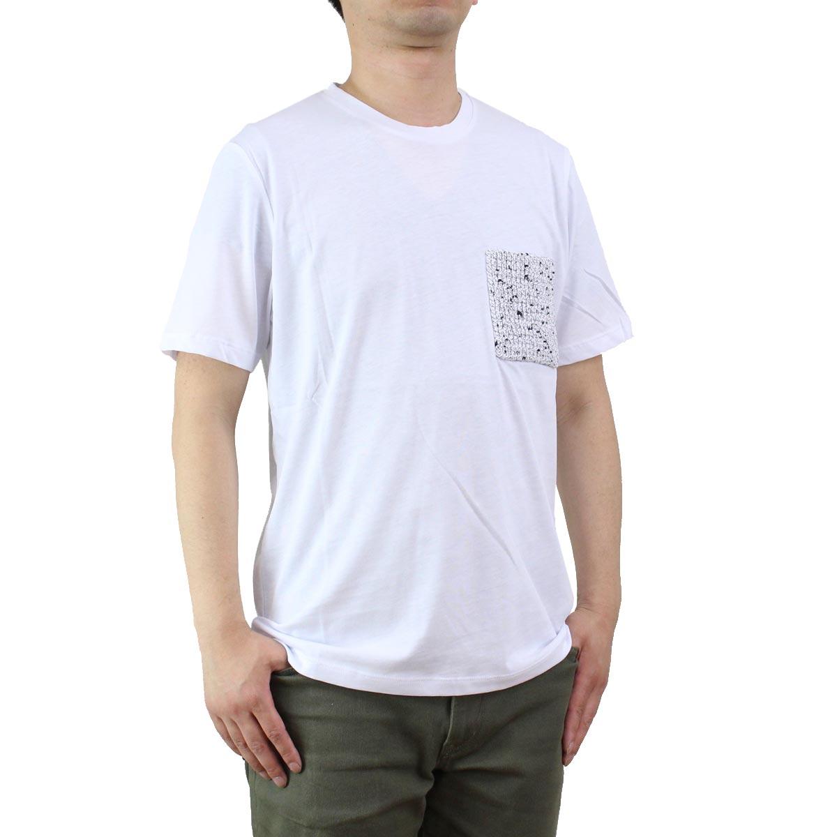 バーク Bark  メンズ 半袖Tシャツ 71B8703 281 OFF-WHITE ホワイト系  メンズ ティーシャツ ティーシャツ T shirt OLS-4  ts-01