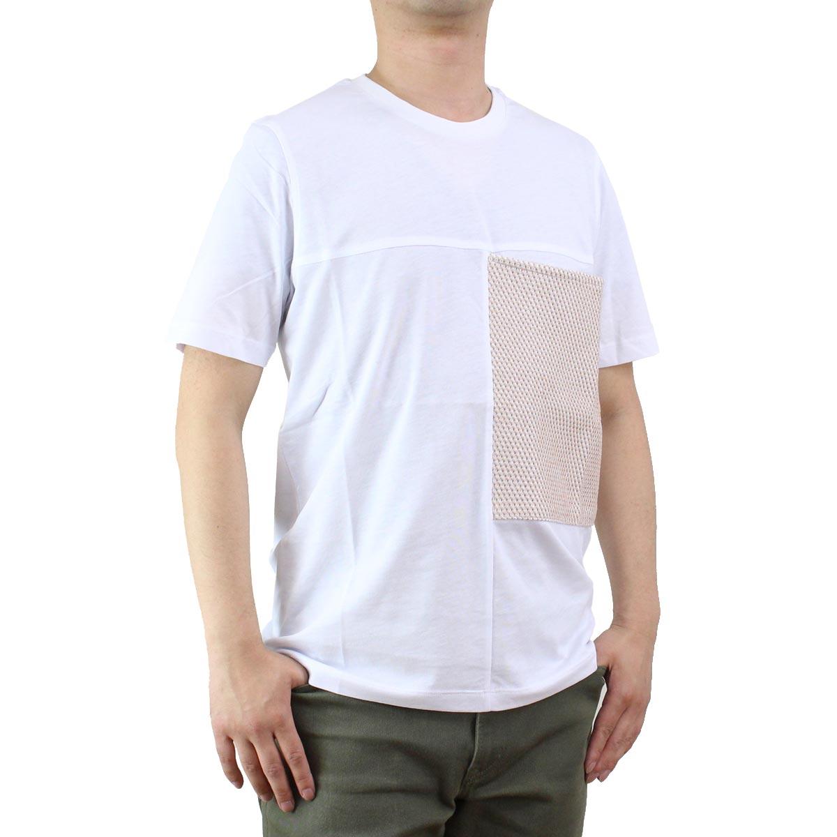 バーク Bark  メンズ クルーネック 半袖 Tシャツ 71B8706 276 SAND ホワイト系/ベージュ系  メンズ ティーシャツ ティーシャツ T shirt OLS-4  ts-01