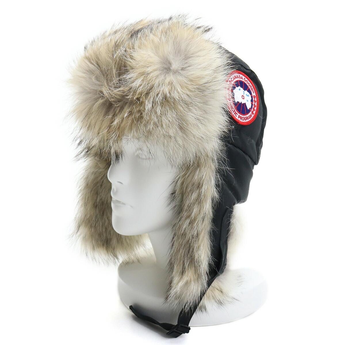 カナダグース CANADA GOOSE AVIATOR HAT メンズ-帽子類 5187M 61 BLACK ブラック bos-16 cap-01 メンズ