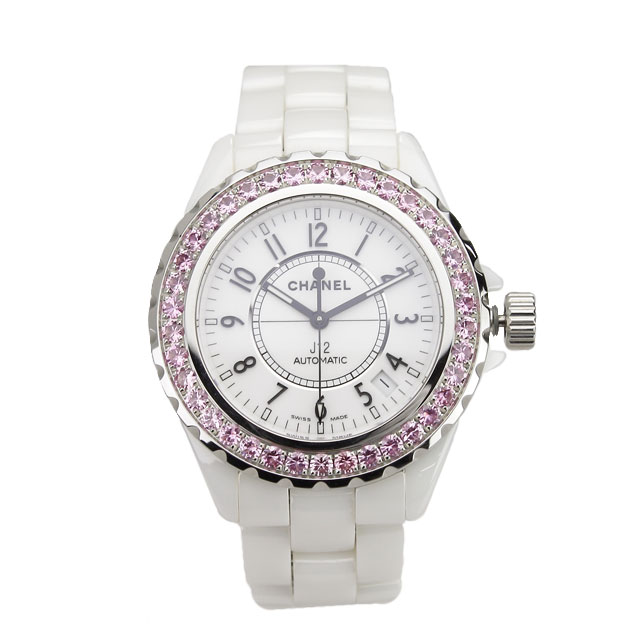 新品 シャネル CHANEL オートマチック腕時計 H1182 J12 ホワイト系 メンズ 自動巻き