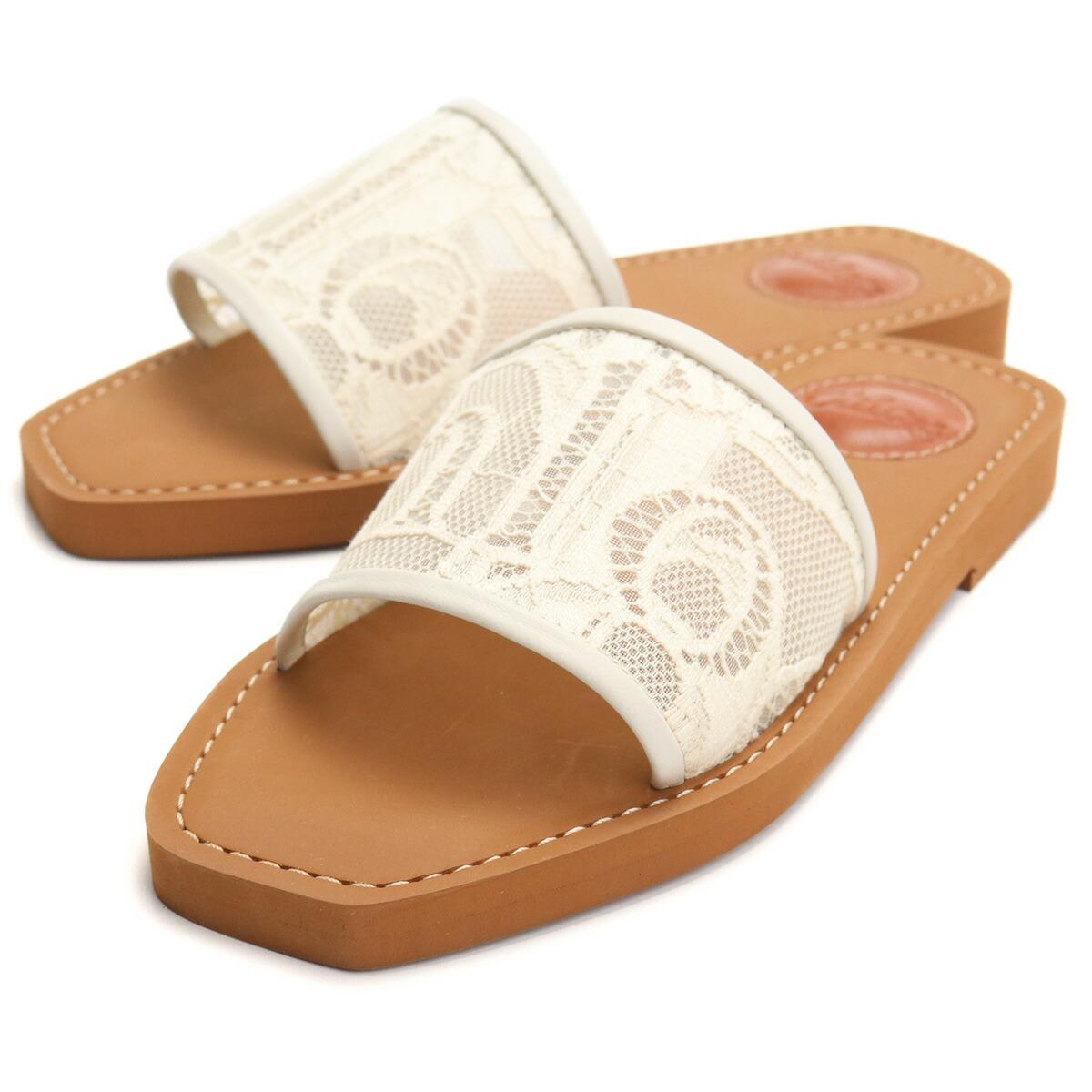 クロエ CHLOE サンダル CHC19U187D2 6J1 MILD BEIGE ベージュ系 shoes-01 レディース
