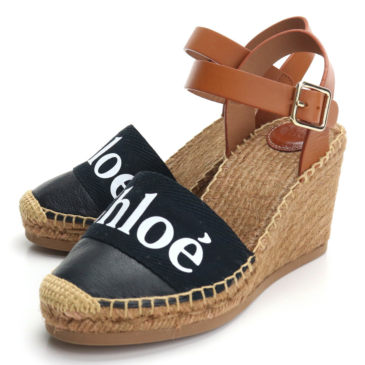 クロエ CHLOE サンダル CHC21U448R4 001 BLACK ブラック shoes-01 レディース