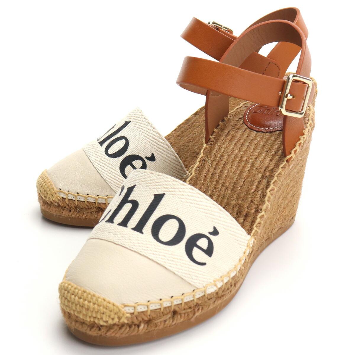クロエ CHLOE サンダル CHC21U448R4 101 WHITE ホワイト系 shoes-01 レディース