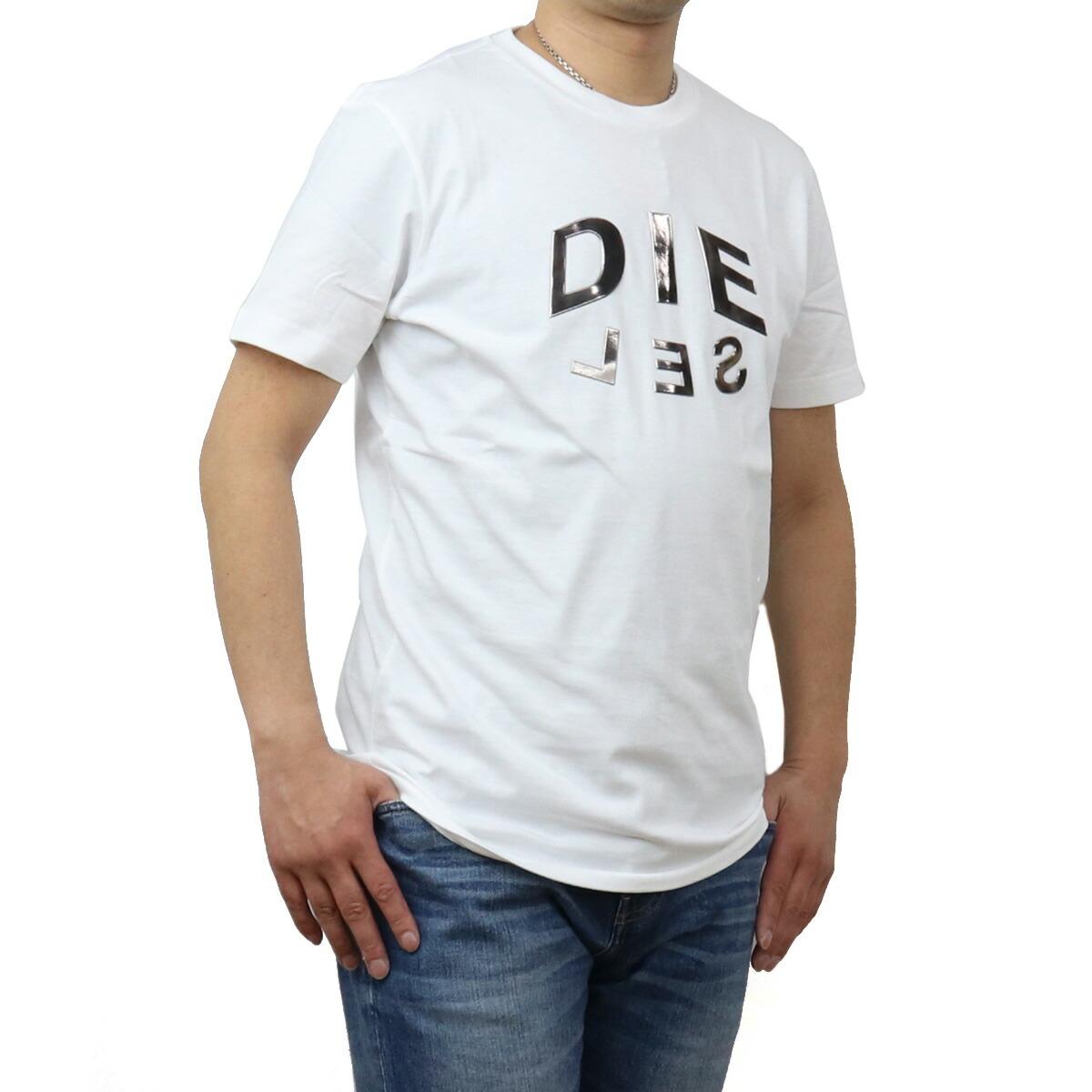 ディーゼル DIESEL メンズ-Tシャツ A01746 0PATI 100 ホワイト系 bos-43 apparel-01 ts-01 メンズ