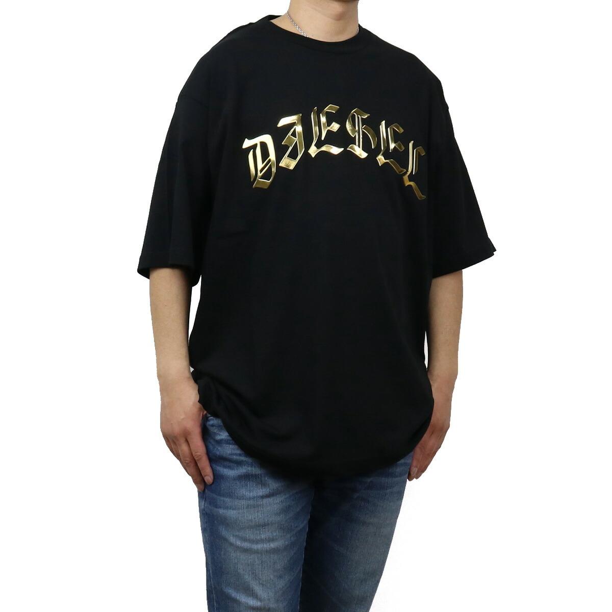 ディーゼル DIESEL メンズ-Tシャツ A01866 0PATI 9XX ブラック bos-43 apparel-01 ts-01 メンズ