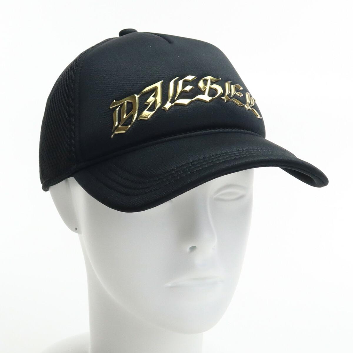ディーゼル DIESEL メンズ-帽子類 キャップ A01943 0BCAP 900 ブラック bos-43 cap-01 メンズ