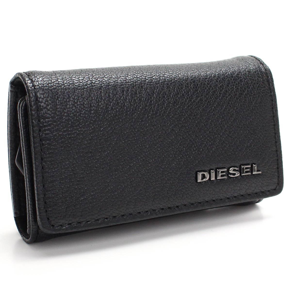 ディーゼル DIESEL レザー 6連キーケース X06629 P0396 T8013 ブラック