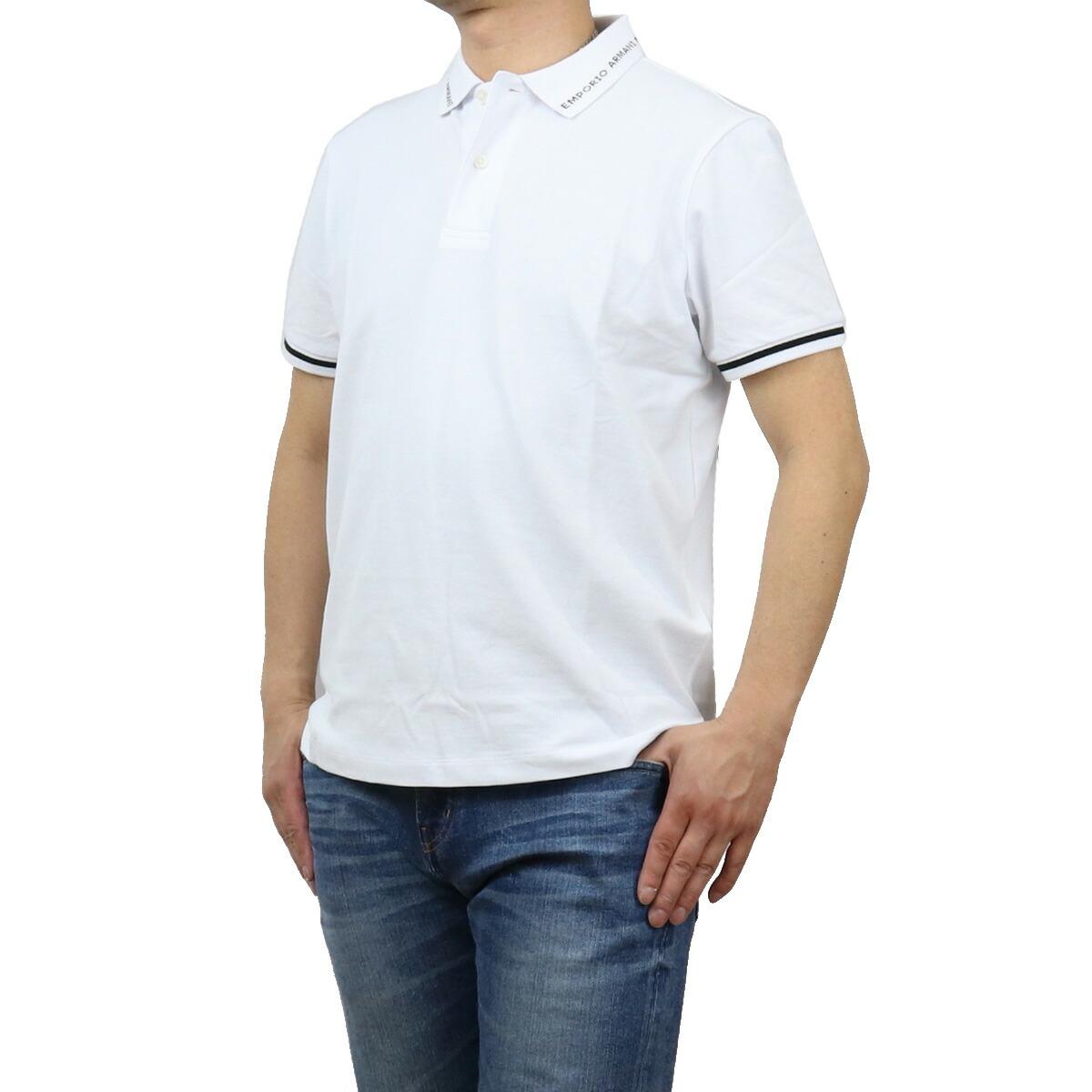 エンポリオ・アルマーニ EMPORIO ARMANI メンズ-ポロシャツ 3K1FA4 1JPTZ 0168 ホワイト系 bos-19 apparel-01 polo-01 メンズ