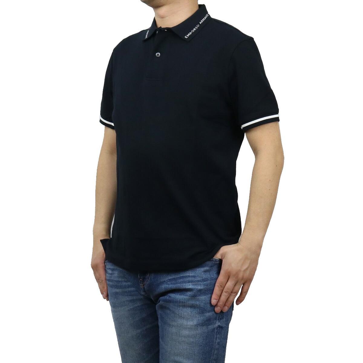 エンポリオ・アルマーニ EMPORIO ARMANI メンズ-ポロシャツ 3K1FA4 1JPTZ 09A8 ネイビー系 bos-19 apparel-01 polo-01 メンズ