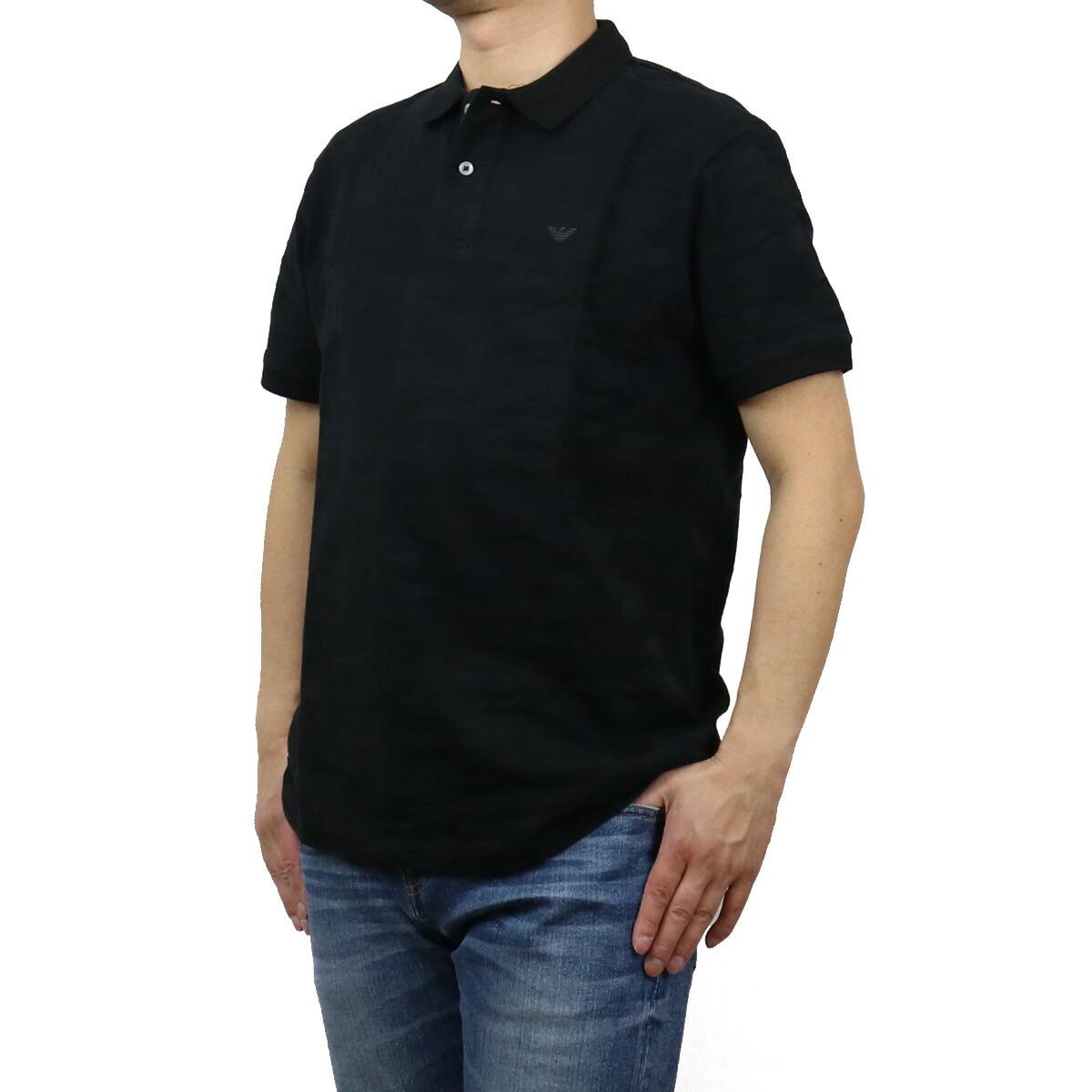エンポリオ・アルマーニ EMPORIO ARMANI メンズ-ポロシャツ 3K1FA9 1JVPZ F036 ブラック bos-19 apparel-01 polo-01 メンズ