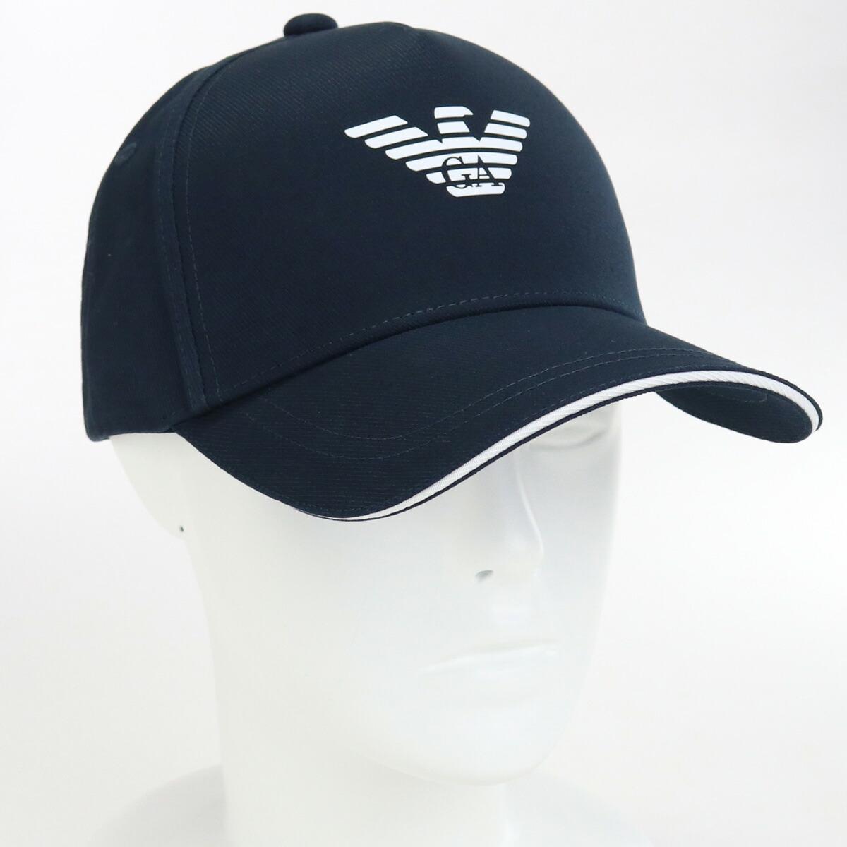 エンポリオ・アルマーニ EMPORIO ARMANI  メンズ-帽子 ブランドキャップ 627920 CC990 00035 BLU NAVY ネイビー系 cap-01