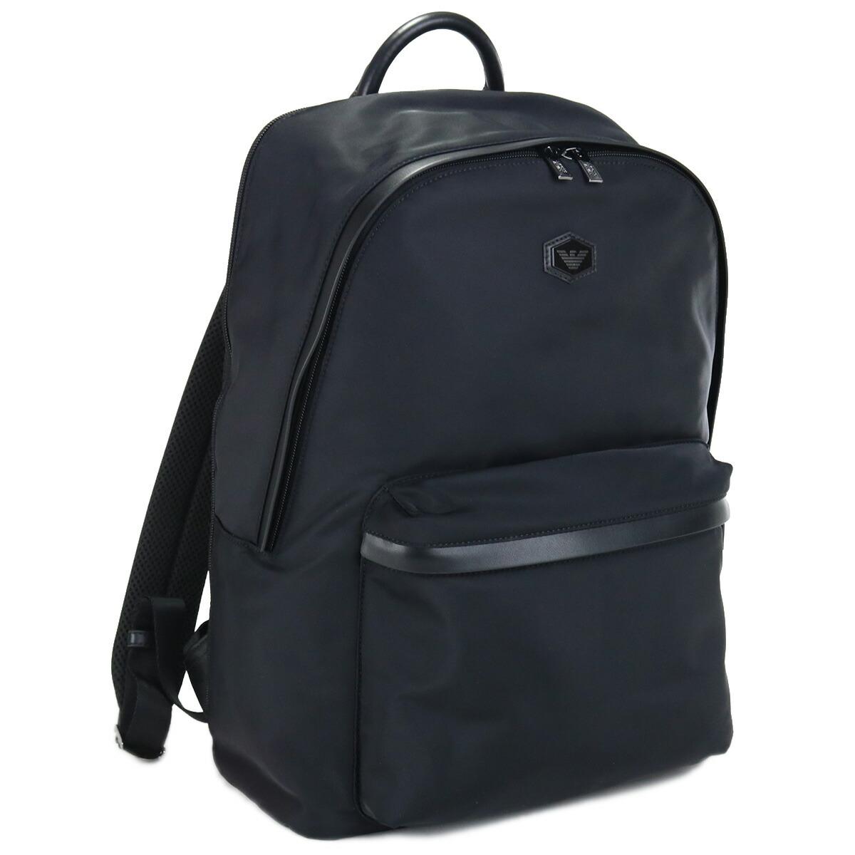 エンポリオ・アルマーニ EMPORIO ARMANI  リュック ブランドバッグ Y4O348 Y091J 81072 BLACK ブラック bag-01