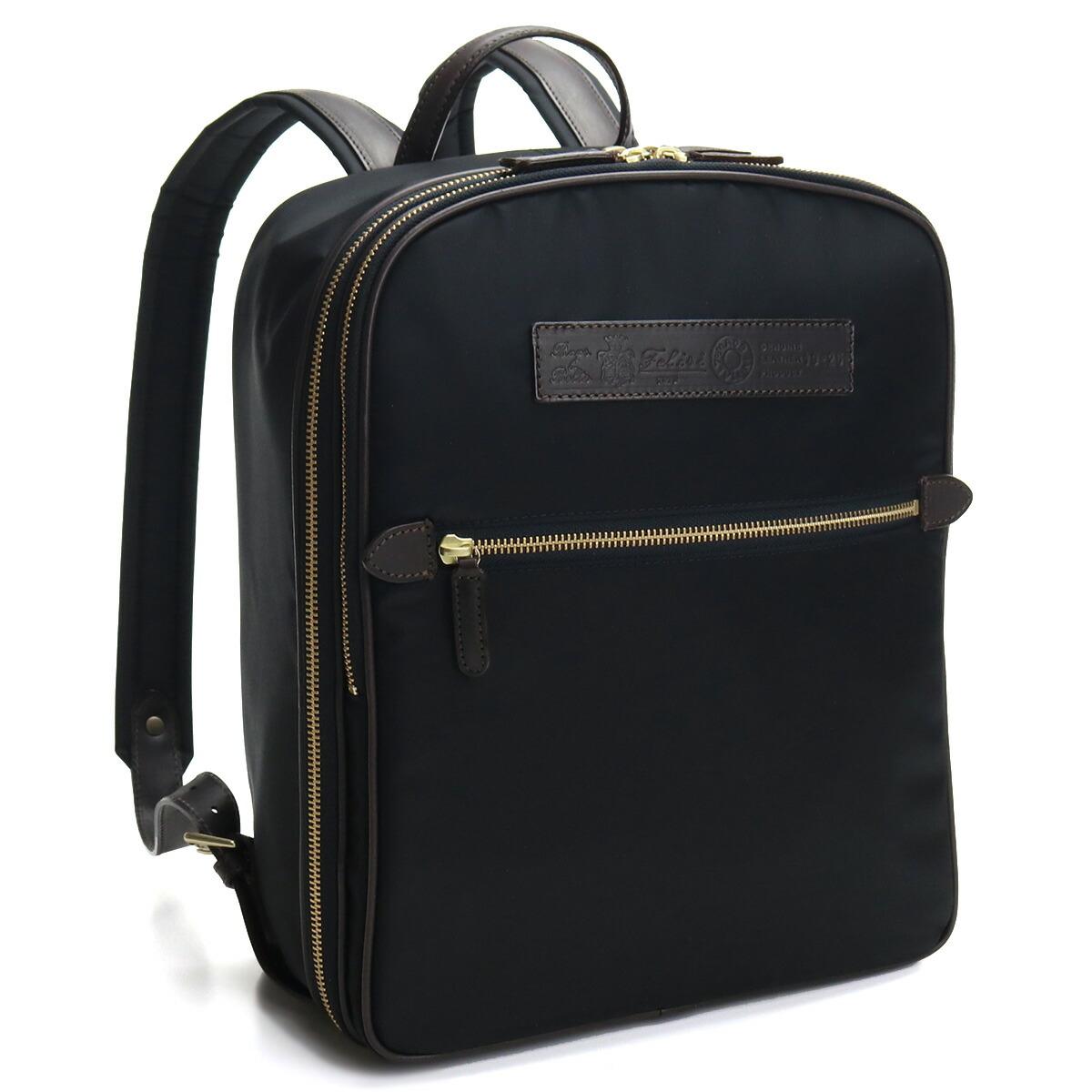 フェリージ FELISI リュック バックパック 19-25 DS03 0040 BLACK/BROWN ブラック 最安値挑戦中メンズ
