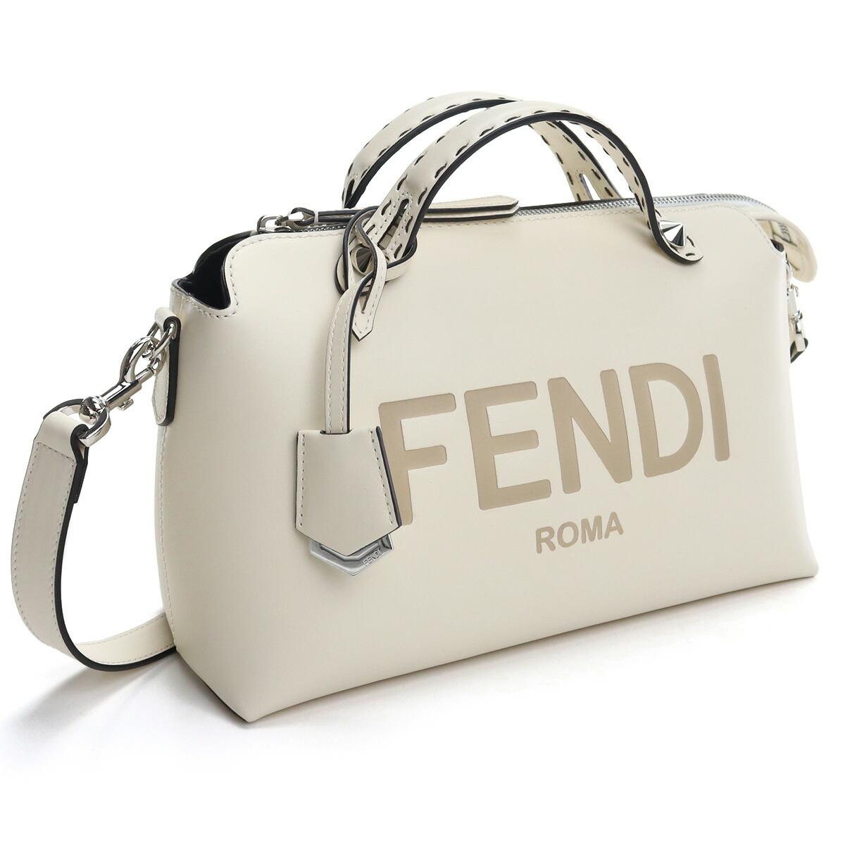 フェンディ FENDI ハンドバッグ バイ ザ ウェイ ミディアム 8BL146 AC9L F0C88 ホワイト系 bos-15 bag-01 レディース