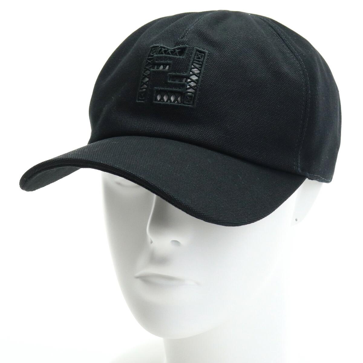 フェンディ FENDI  メンズ-帽子類 ブランドロゴ キャップ ブランドキャップ FXQ768 AFHD F0QA1 ブラック bos-15 cap-01