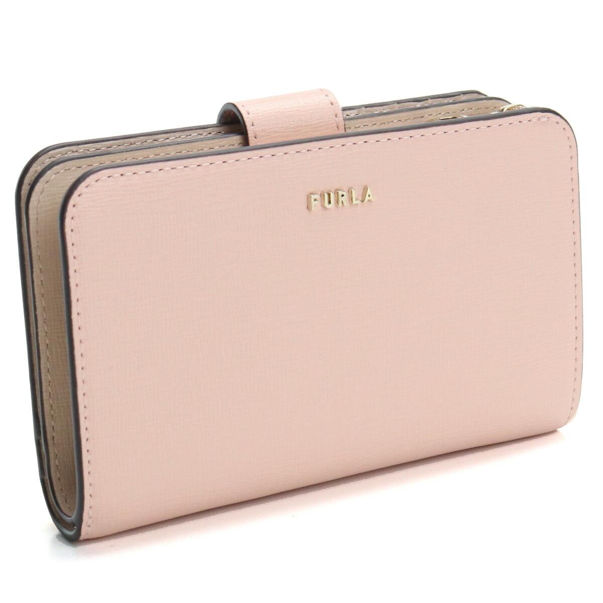 フルラ FURLA BABYLON 2つ折り財布 PCX9UNO B30000 BNH00 CANDY ROSE+BALLERINA ピンク系 レディース