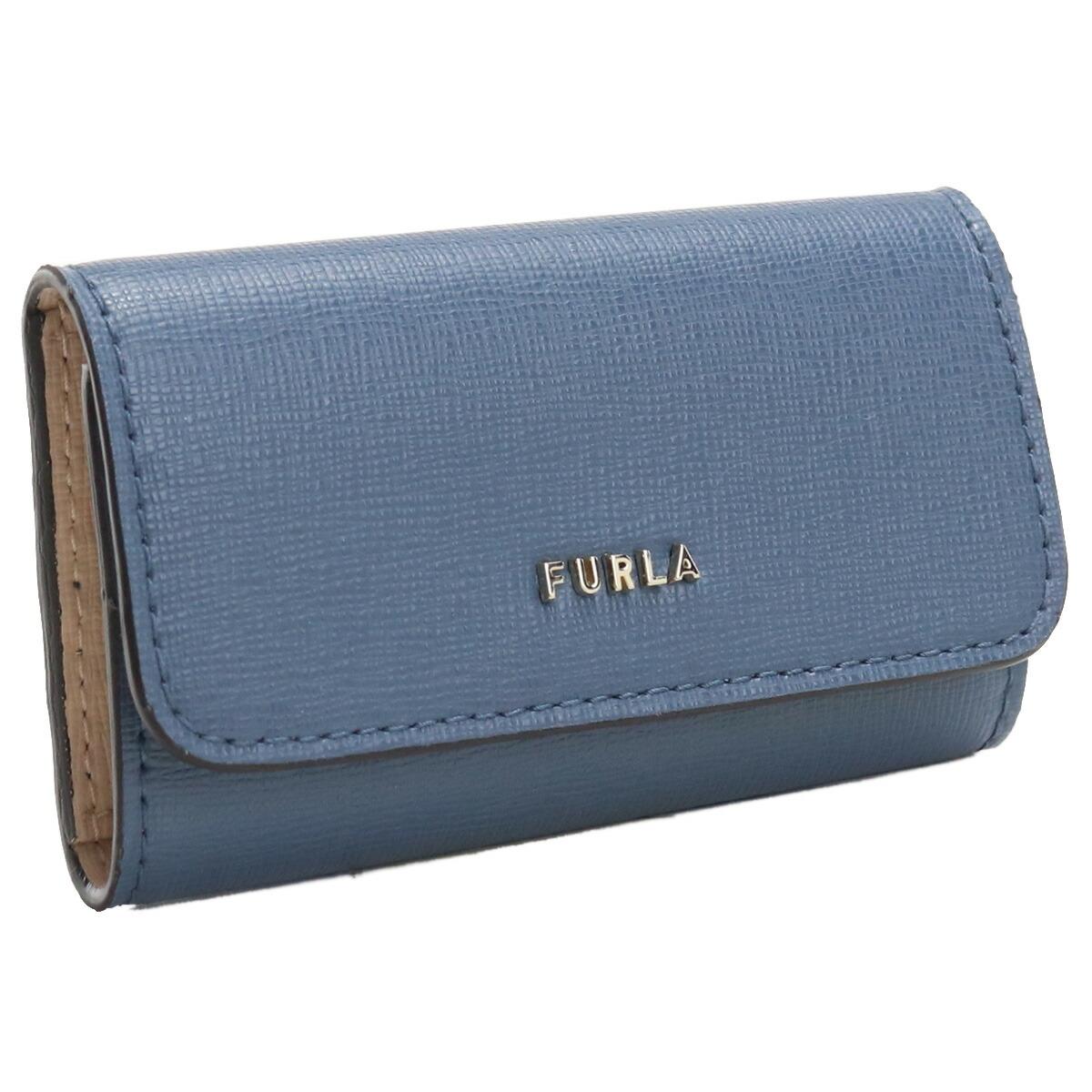 フルラ FURLA BABYLON 4連キーケース ブランドキーケース RAC5UNO B30000 0245S BLU DENIM+BALLERINA ブルー系 gsw-2