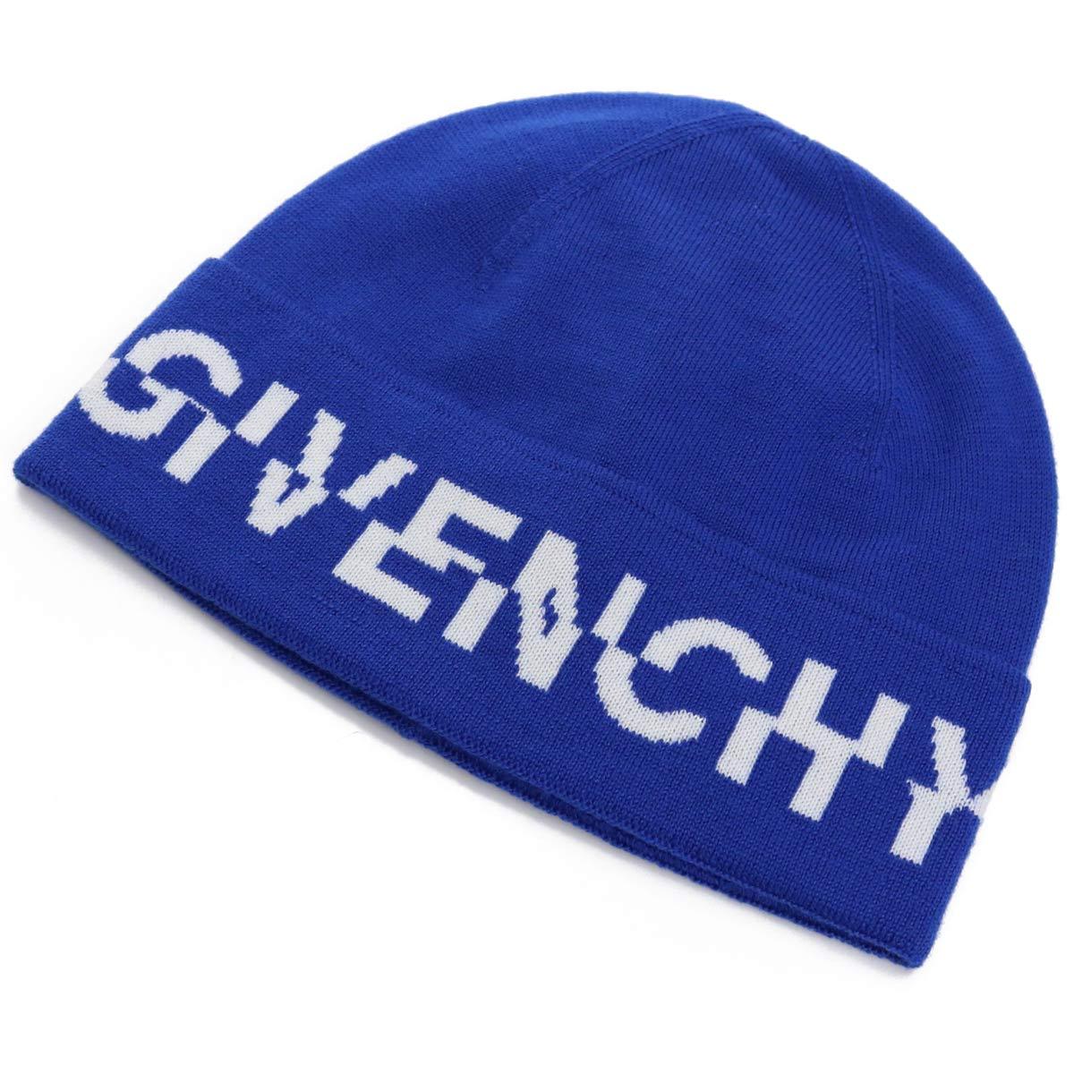 ジバンシー GIVENCHY メンズ ニット 帽子類 BPZ016 P08X 433 ブルー系 メンズ bos-05 cap-01 warm-02