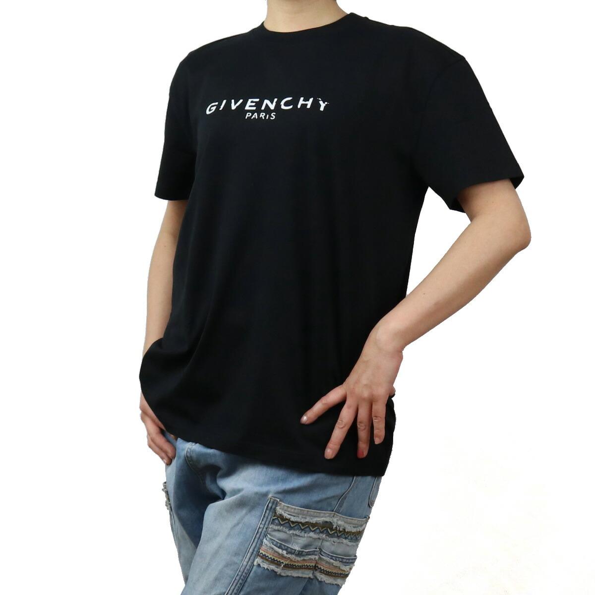 ジバンシー GIVENCHY レディース-Tシャツ BW708F 3Z0Y 001 BLACK ブラック bos-05 apparel-01 レディース