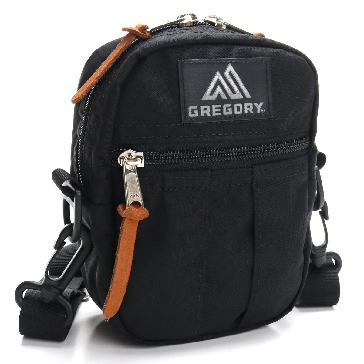 グレゴリー Gregory CLASSIC BAGS QUICKPOCKET S ポシェット 65469 1041 BLACK ブラック メンズレディース