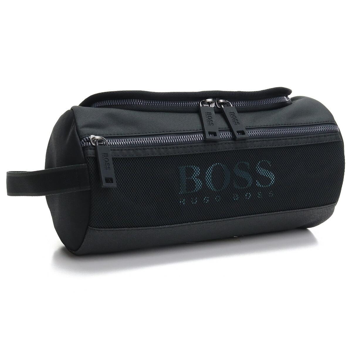 ヒューゴ・ボス HUGO BOSS  セカンドバッグ 50454207 10234968 001 ブラック seco-01