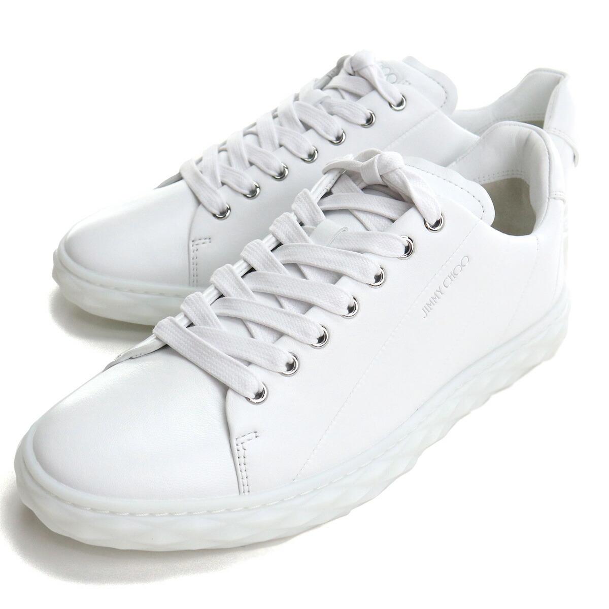 ジミーチュウ JIMMY CHOO  メンズスニーカー ブランドスニーカー DIAMOND LIGHT/M NAP 211 V WHITE ホワイト系 bos-06 shoes-01
