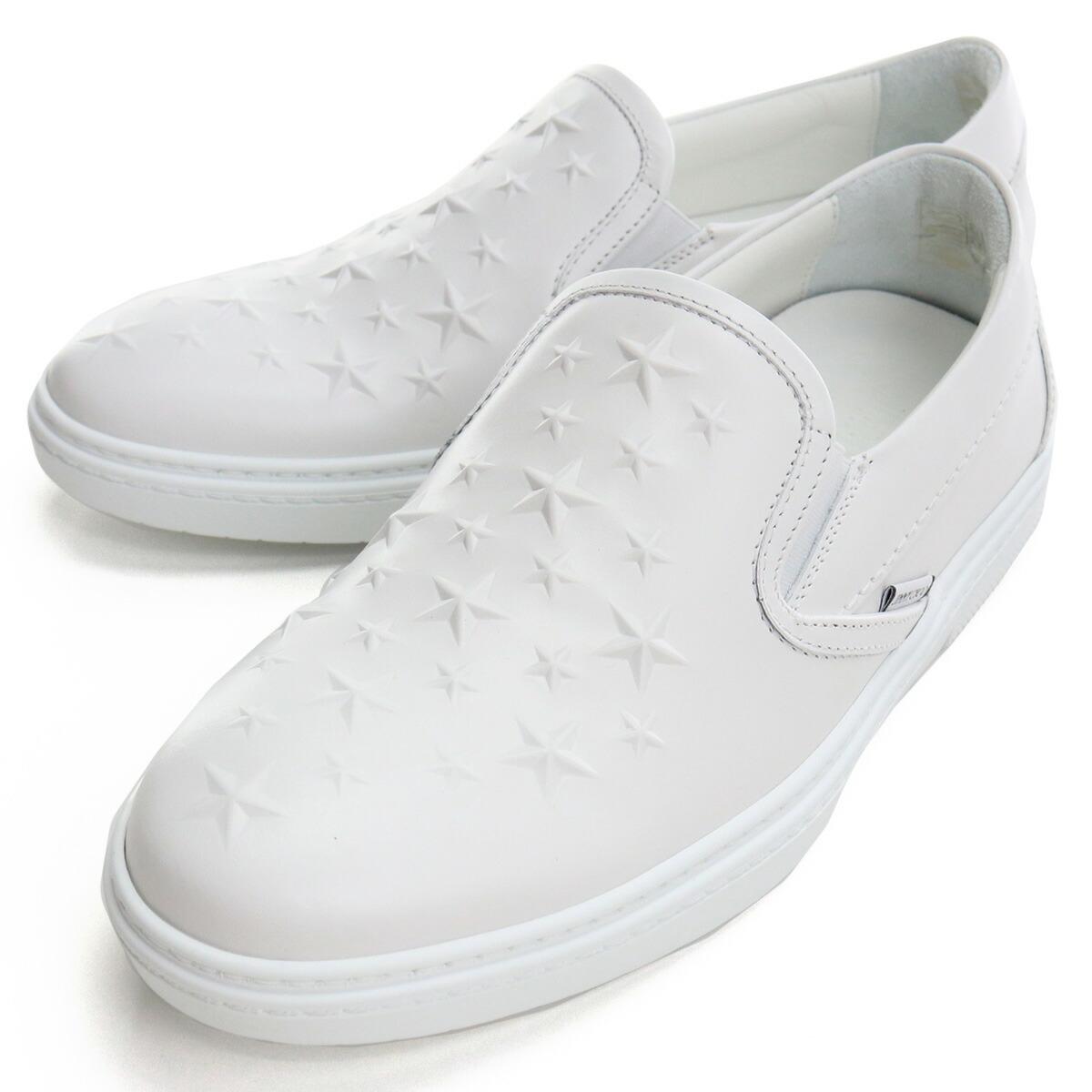 ジミーチュウ JIMMY CHOO  メンズシューズ ブランドスニーカー 白スニーカー GROVE AOA 211 WHITE ホワイト系  bos-06 shoes-01