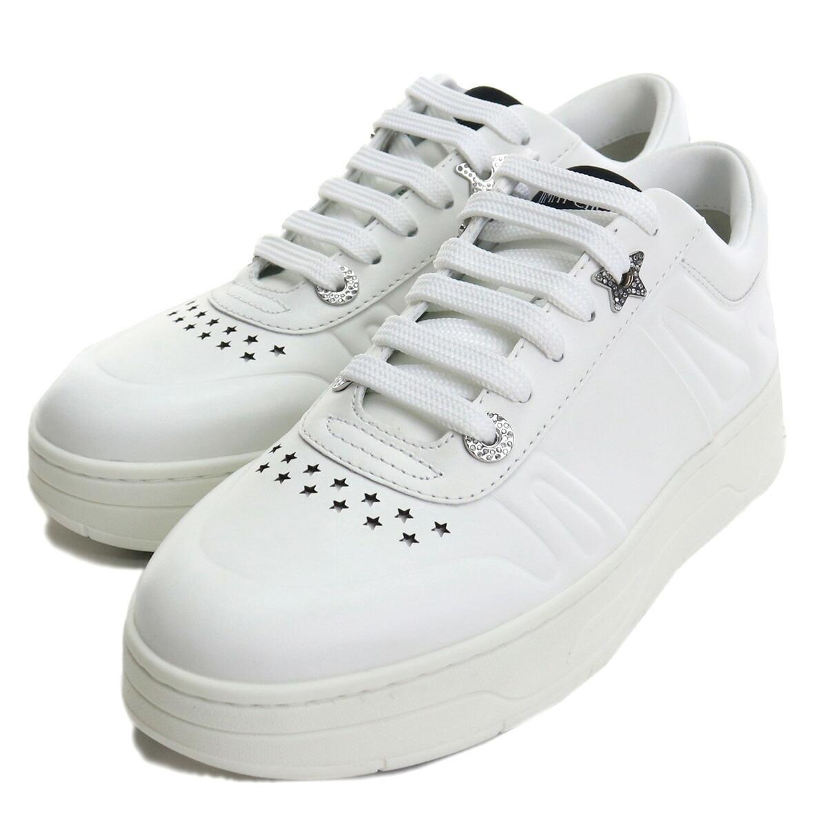 ジミーチュウ JIMMY CHOO レディーススニーカー HAWAII F CLF 193 X WHITE ホワイト系 bos-06 shoes-01 レディース