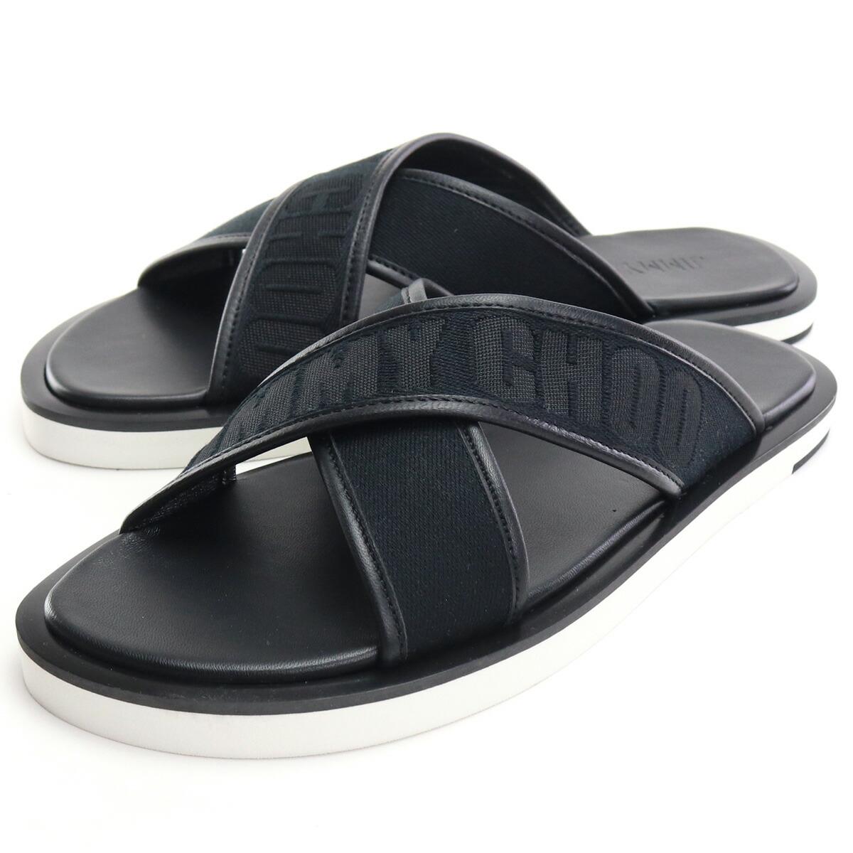ジミーチュウ JIMMY CHOO  サンダル PALMO LBI 201 BLACK/BLACK ブラック bos-06 shoes-01