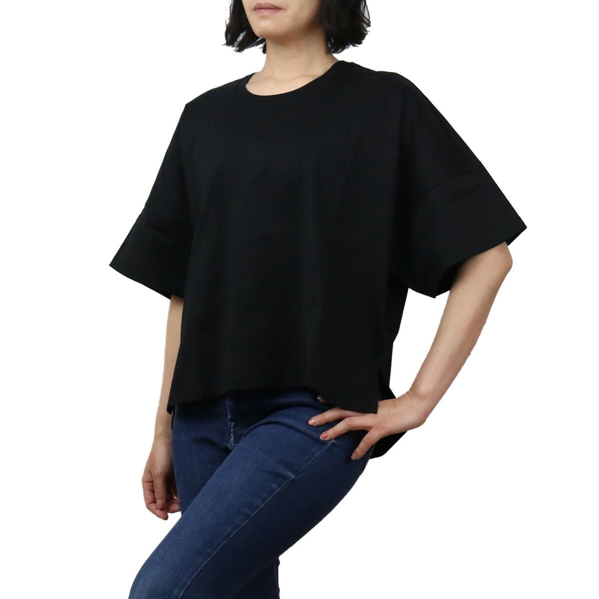 ロエベ LOEWE レディース-Tシャツ S359341XA4 1100 ブラック bos-35 apparel-01 ts-01 レディース