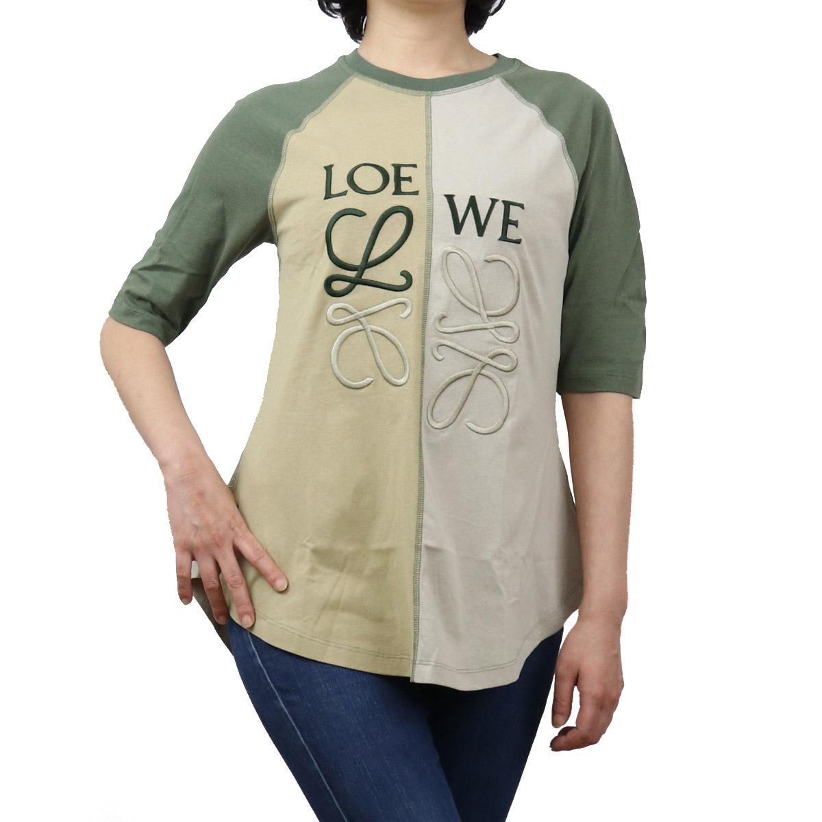 ロエベ LOEWE レディース-Tシャツ S540Y22J02 4167 マルチカラー bos-35 apparel-01 レディース