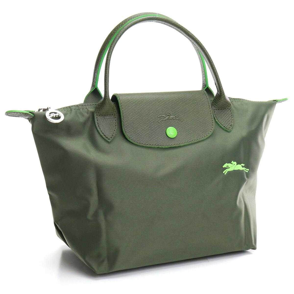 ロンシャン LONGCHAMP PLIAGE ハンドバッグ ブランドバッグ 1621 619 549 ル プリアージュ クラブ LE PLIAGE CLUB グリーン系 bag-01