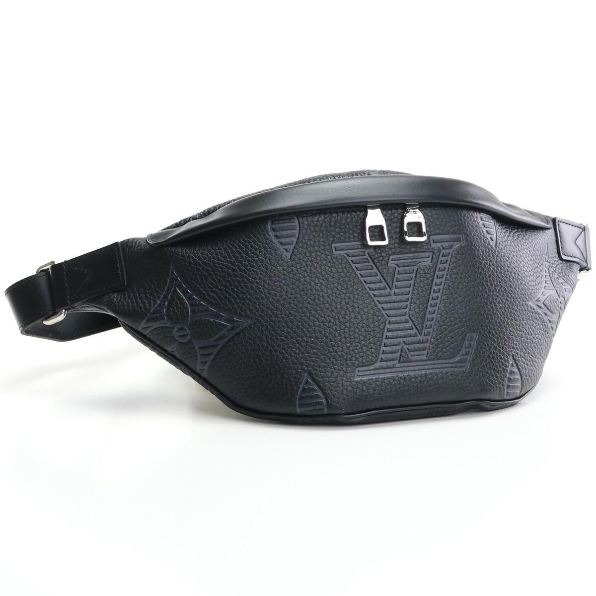 ルイ・ヴィトン LOUIS VUITTON トリヨン ボディバッグ M57289 トリヨン ディスカバリー・バムバッグ NM ブラック bos-45 bag-01