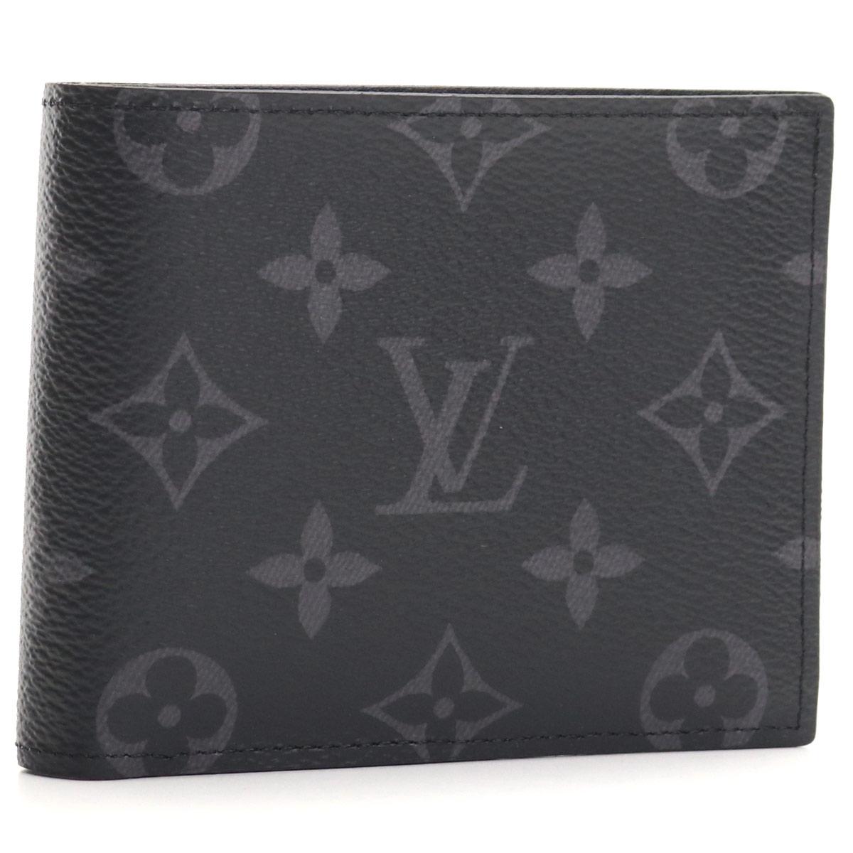 ルイ・ヴィトン LOUIS VUITTON エクリプス 二折財布小銭 M62545 エクリプス  メンズ
