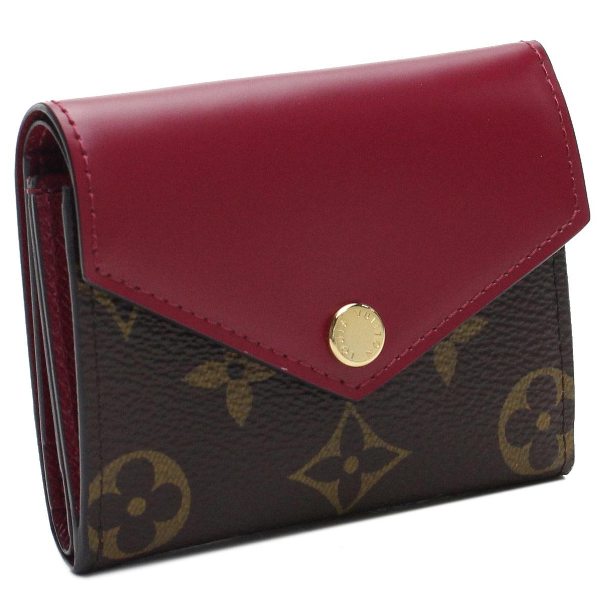 ルイ ヴィトン LOUIS VUITTON モノグラム コンパクト財布 3つ折り財布 ミニ財布 M62932 モノグラム ブラウン系  レディース