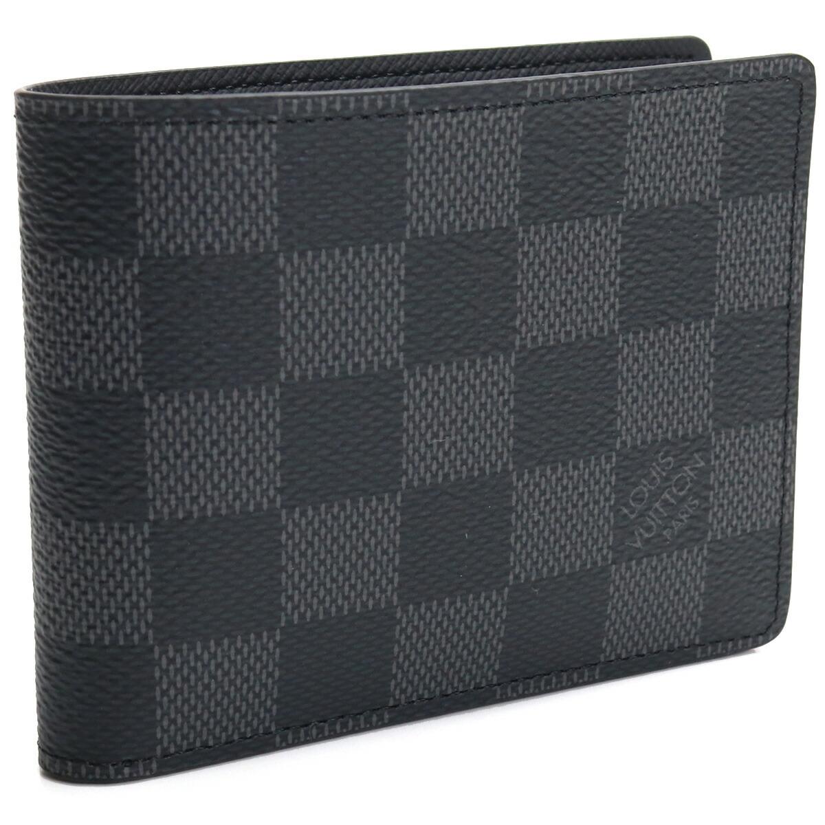 ルイ・ヴィトン LOUIS VUITTON グラフィット 2つ折り財布 ブランド財布 N63261 グラフィット グレー系 bos-45 gsm-2