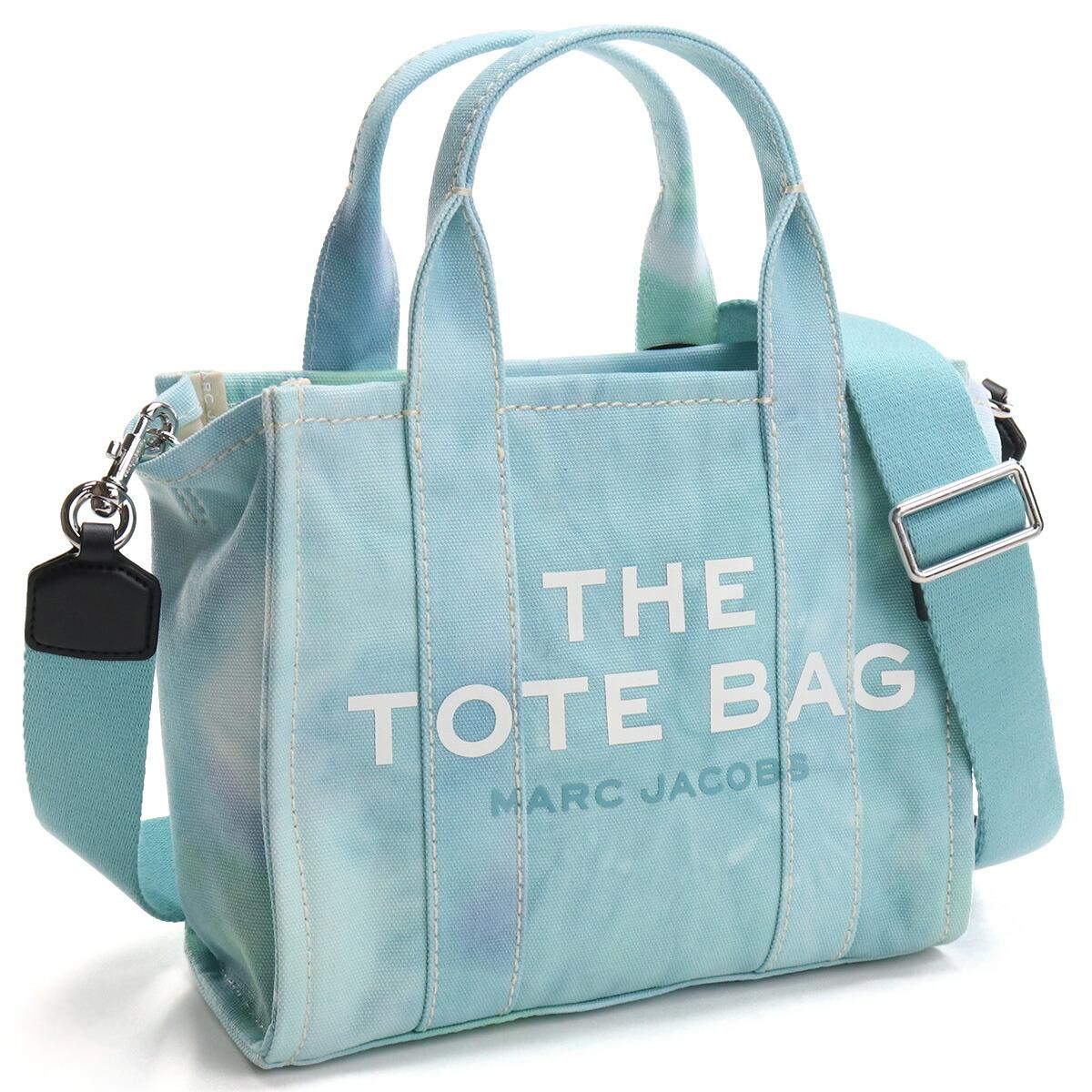 マーク・ジェイコブス MARC JACOBS  トートバッグ ブランドバッグ H013M02PF21 401 THE TOTE THE TIE DYE MINI TOTE BAG BLUE MULTI ブルー系 bag-01