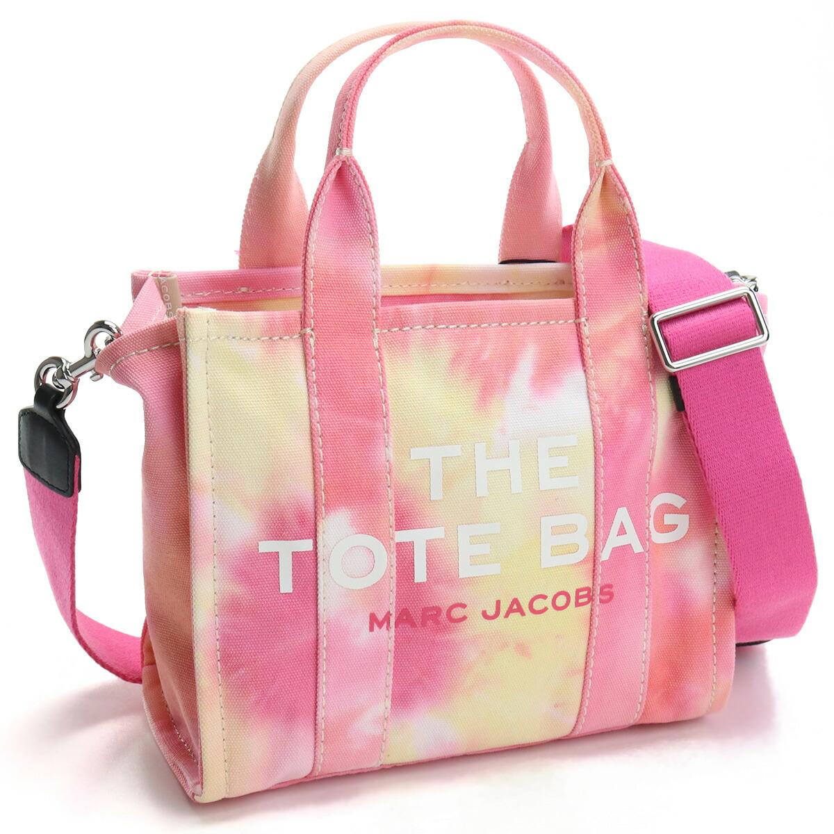 マーク・ジェイコブス MARC JACOBS  トートバッグ ブランドバッグ H013M02PF21 699 THE TOTE THE TIE DYE MINI TOTE BAG PINK MULTI ピンク系 bag-01