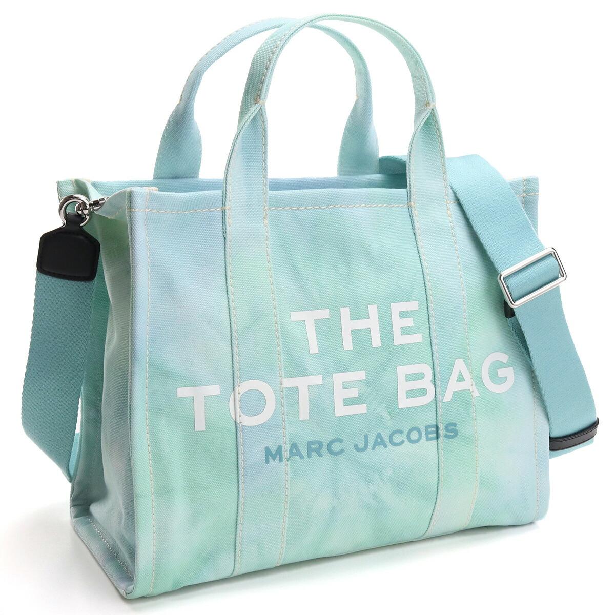 マーク・ジェイコブス MARC JACOBS  トートバッグ ブランドバッグ H014M02PF21 401 THE TOTE THE TIE DYE MINI TOTE BAG BLUE MULTI ブルー系 bag-01