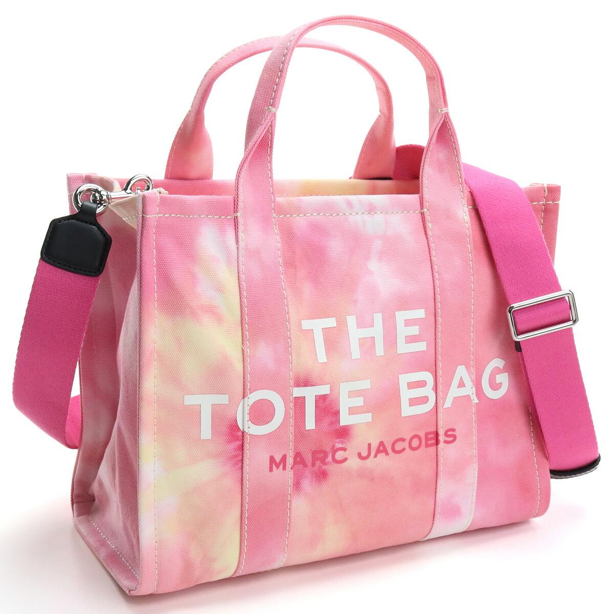 マーク・ジェイコブス MARC JACOBS  トートバッグ ブランドバッグ H014M02PF21 699 THE TOTE THE TIE DYE MINI TOTE BAG PINK MULTI ピンク系 bag-01