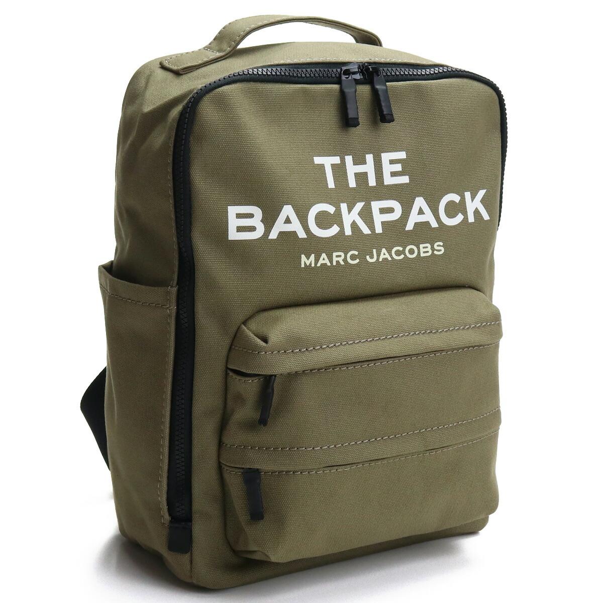 マーク・ジェイコブス MARC JACOBS  リュック ブランドバッグ バックパック H301M06SP21 372 SLATE GREEN カーキ bag-01