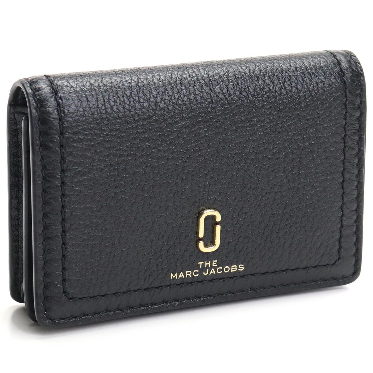 マーク・ジェイコブス MARC JACOBS BUSINESS CARD CASE 名刺入れ ブランド名刺入れ M0016256 001 BLACK ブラック gsw-3