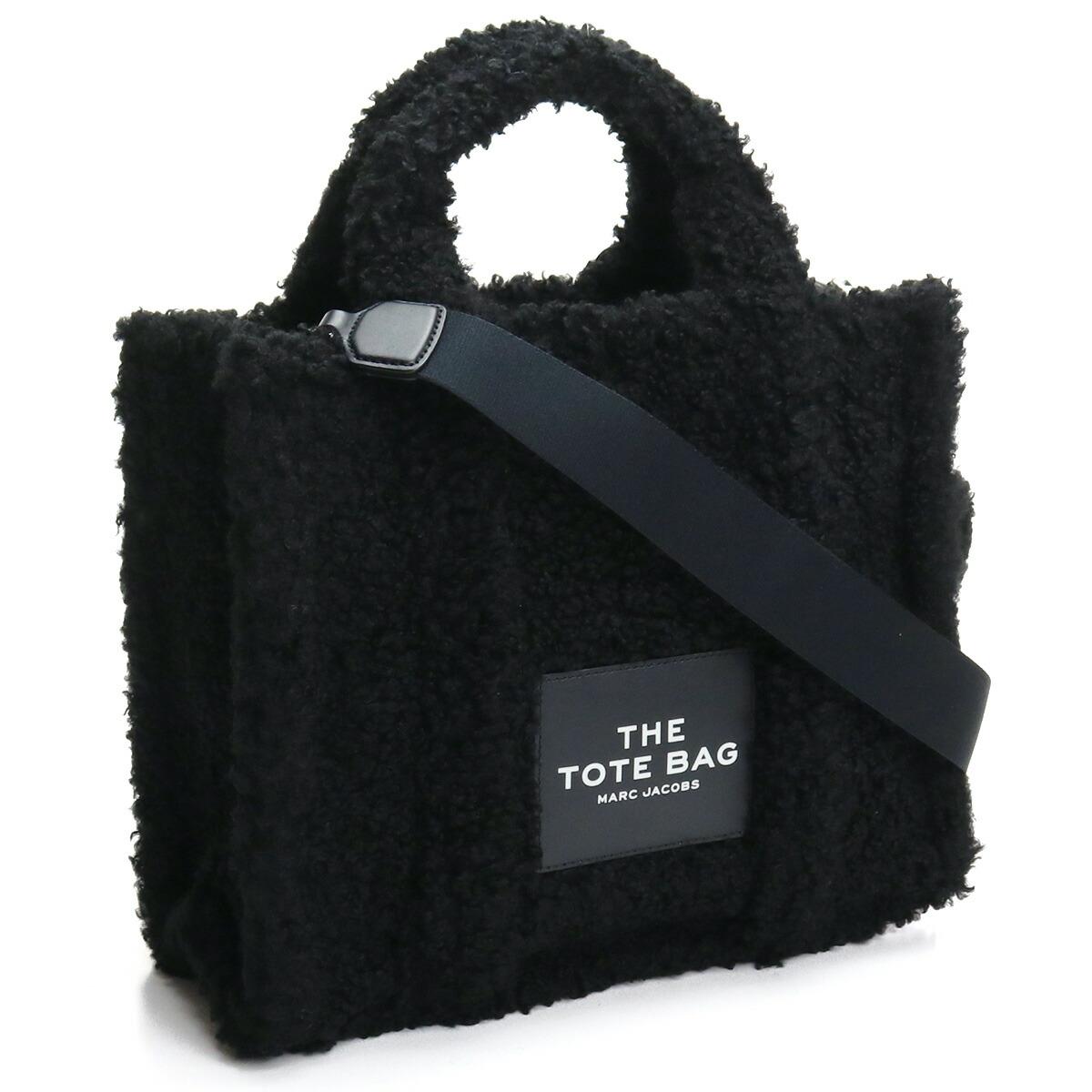 マーク・ジェイコブス MARC JACOBS  トートバッグ ブランドバッグ M0016740 001  ザ テディ THE TEDDY  BLACK ブラック bag-01