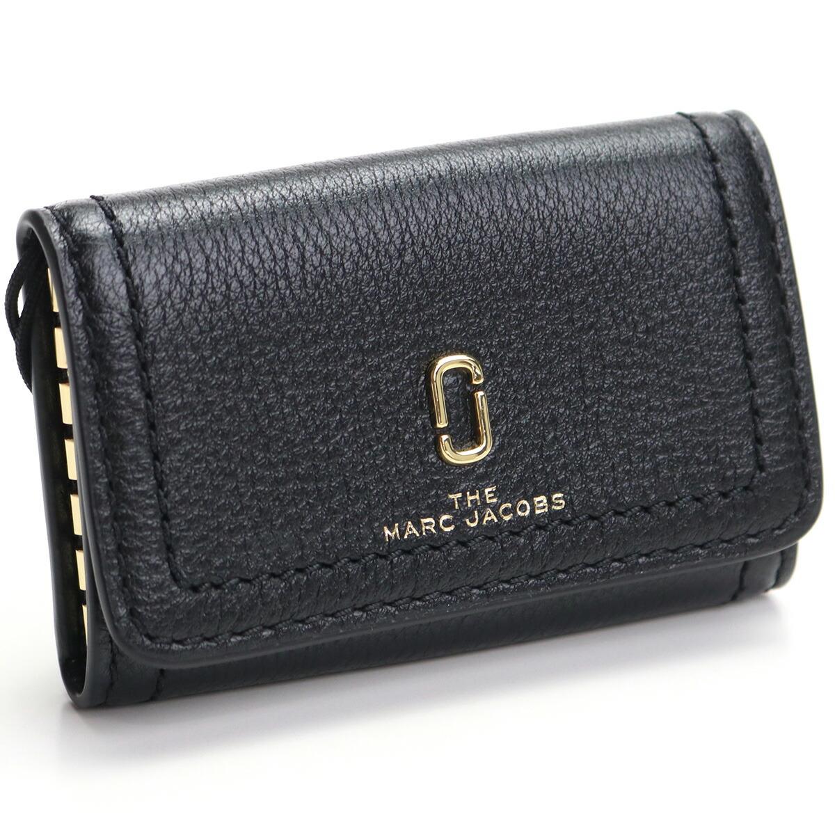 マーク・ジェイコブス MARC JACOBS KEY CASE 6連キーケース M0016796 001 BLACK ブラック gsw-3